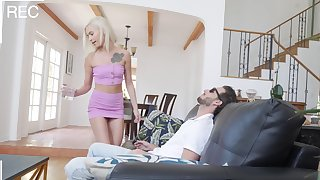 Impeccable hotel room hidden cam sex leads sis to illogical orgasms